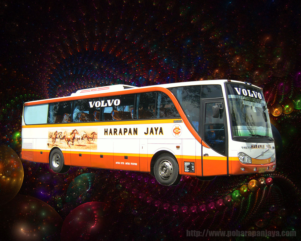 Bus Wallpaper Bus Malam Patas Bus Pariwisata 1280x1024
