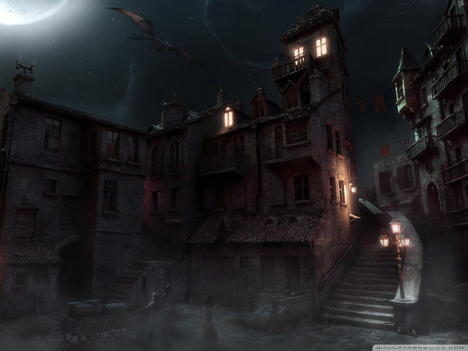 Dark City Background Dark   city wallpapers and 1600x1200