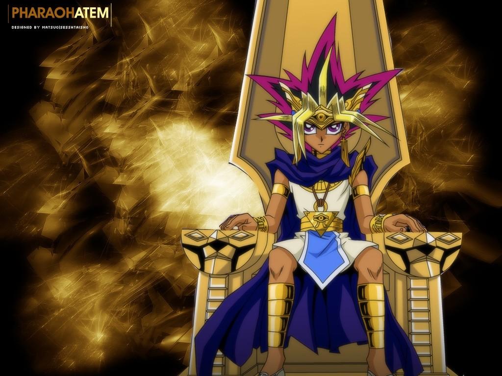 YU GI OH wallpapers   Yu Gi Oh Atem pharaoh wallpaper 1024x768