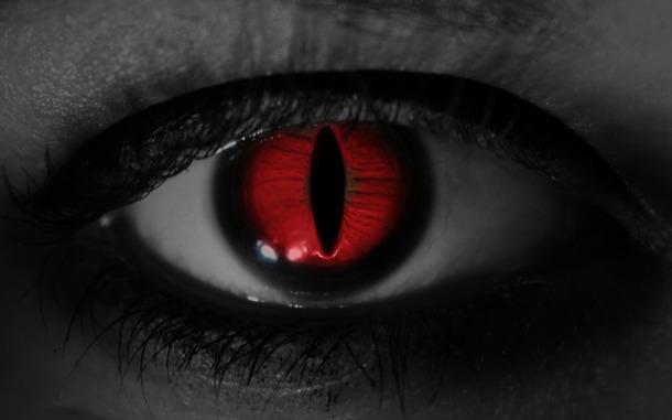 evil eye photoshop wallpaper 2560 1600 auge rot   image 462427 on 610x381