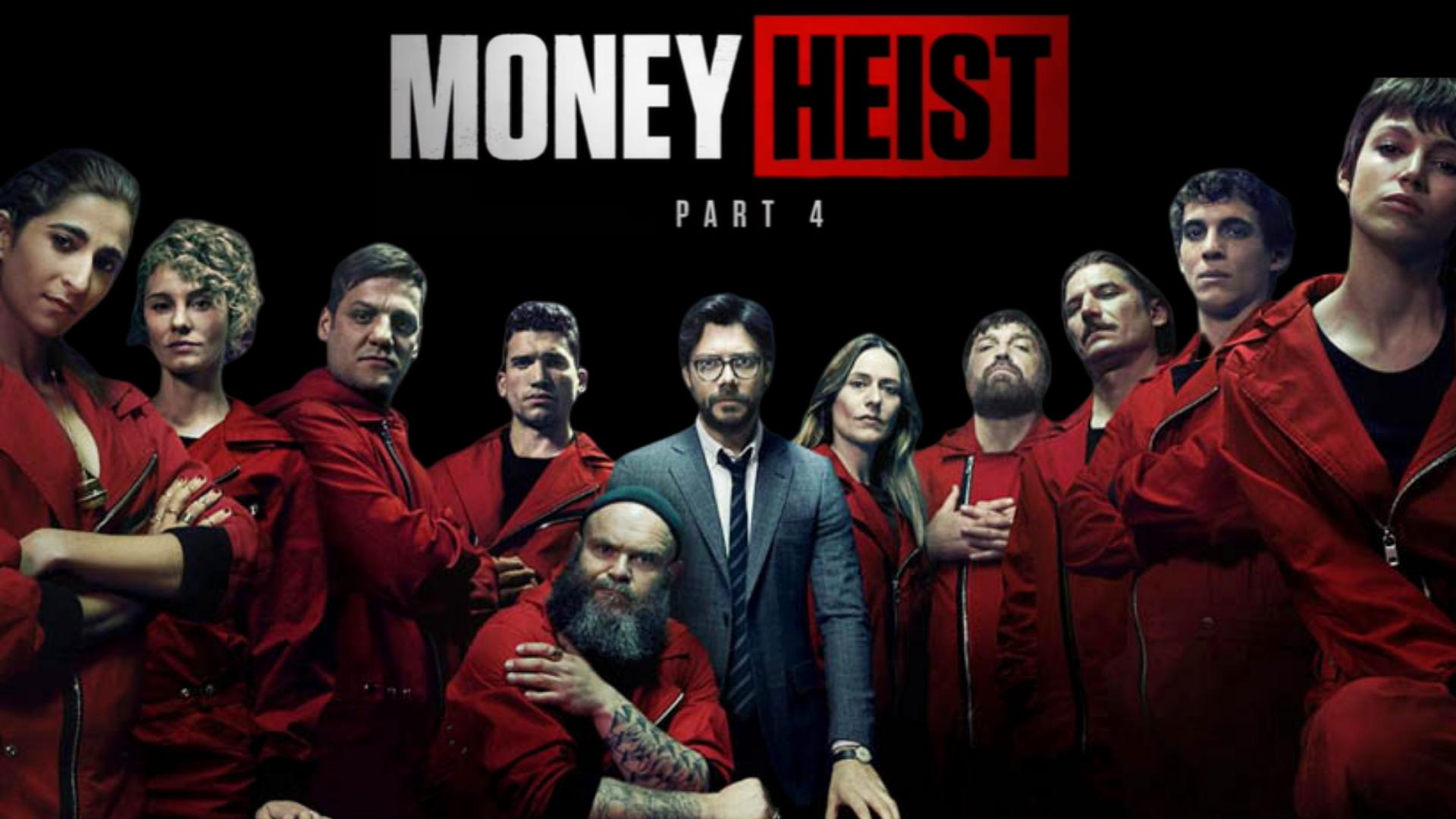 Money Heist Web Series 4 Netflix 2020 Cast Trailer Episodes 1920x1080