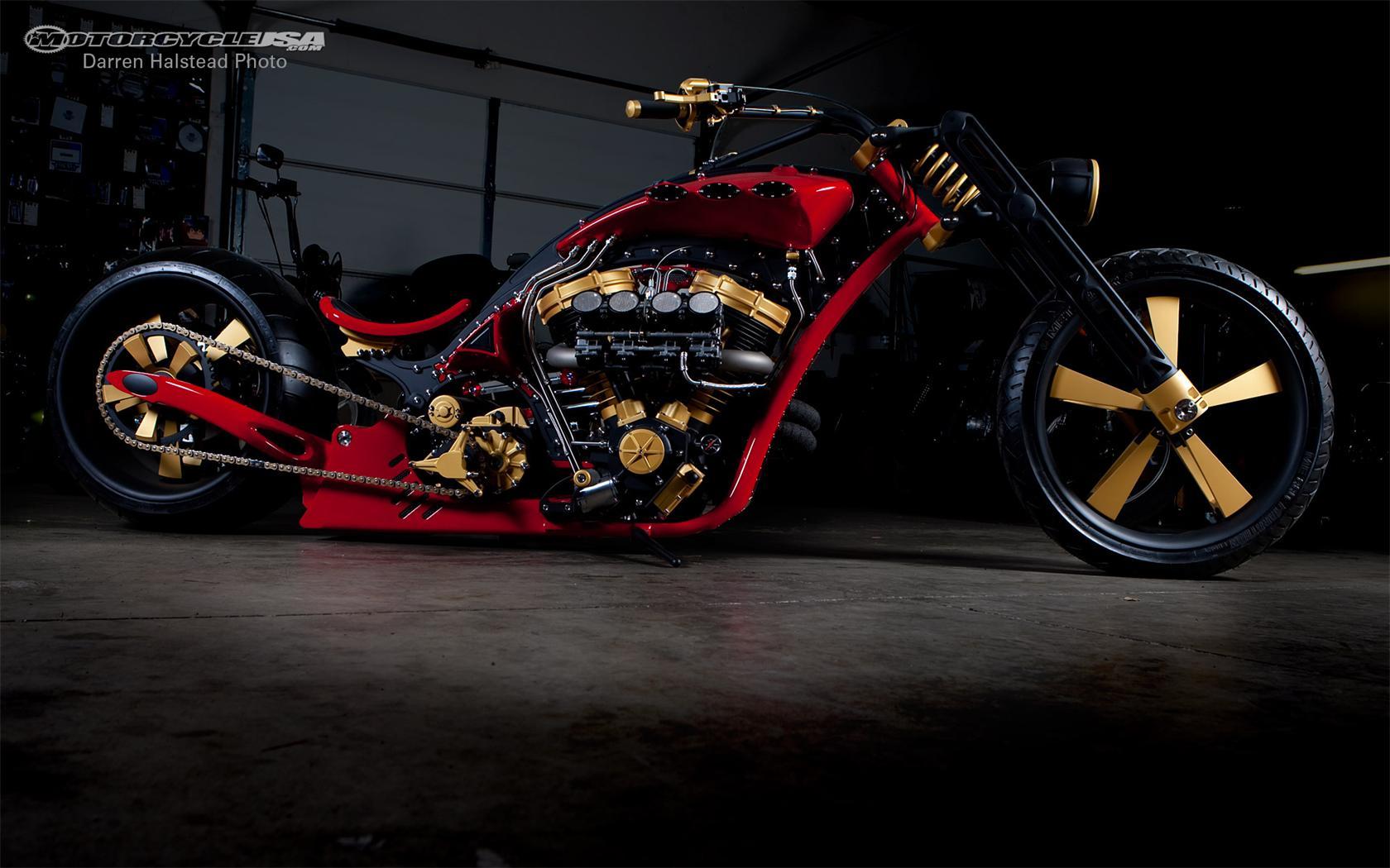 Custom Builders Motorcycle Thunderstruck desktop wallpapers 1024x768 1680x1050