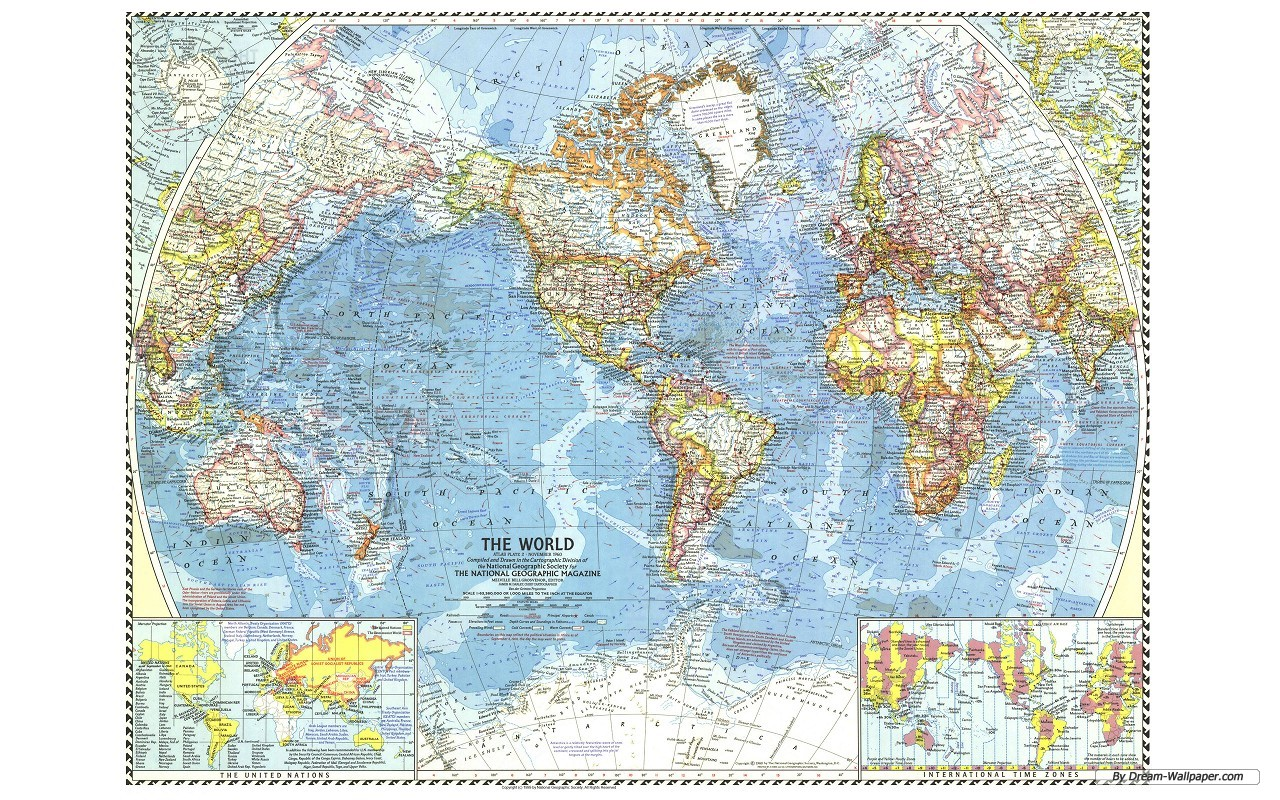 Back Gallery For map of the world wallpaper 1280x800
