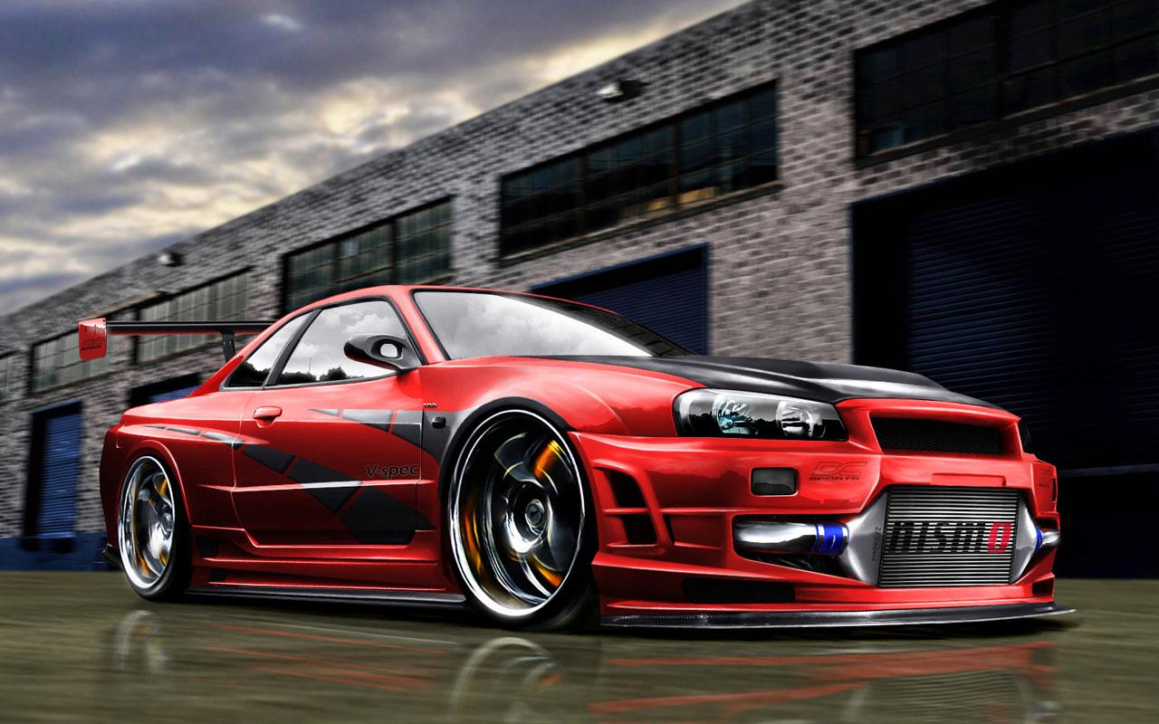 car live wallpaper android application is the best app of nissan car 1280x800