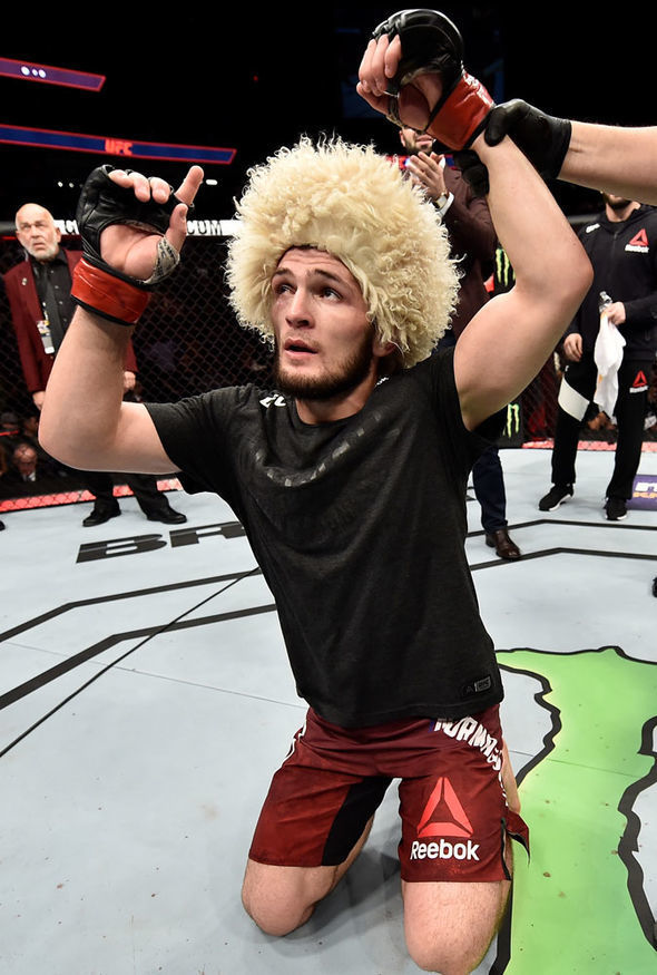 Tony Ferguson vs Khabib Nurmagomedov to fight at UFC 223 Dana 590x875