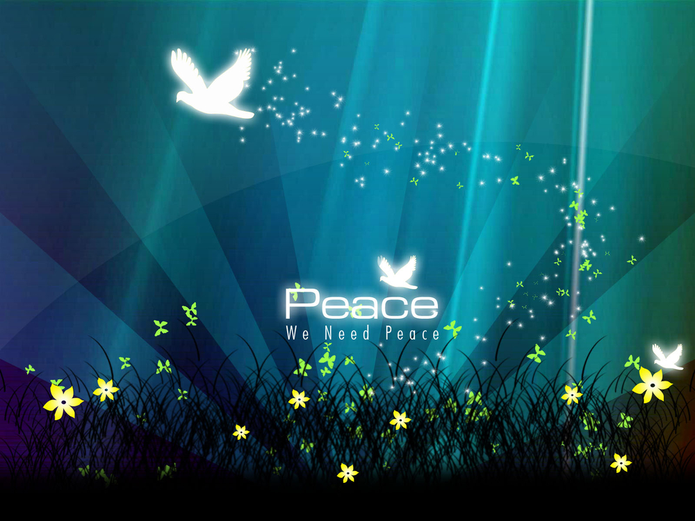 Wallpapers   Peace by pakistani   Customizeorg 1000x750