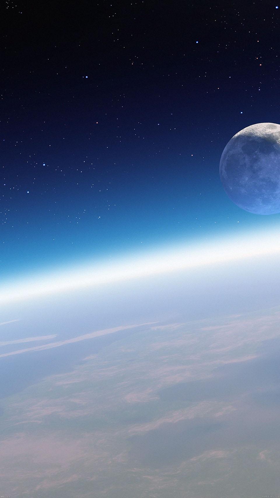 Moon Orbit Wallpaper iPhone 6 preview 960x1704