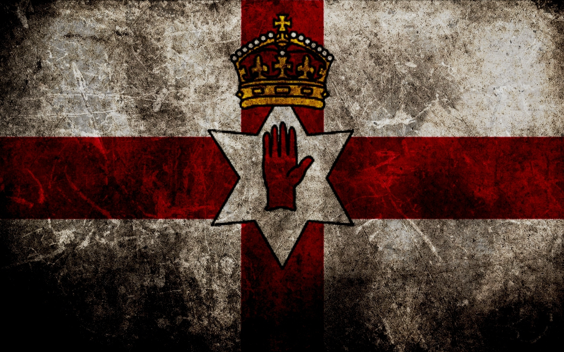 HD desktop wallpaper of the flag wallpaper of the Ulster 1920x1200