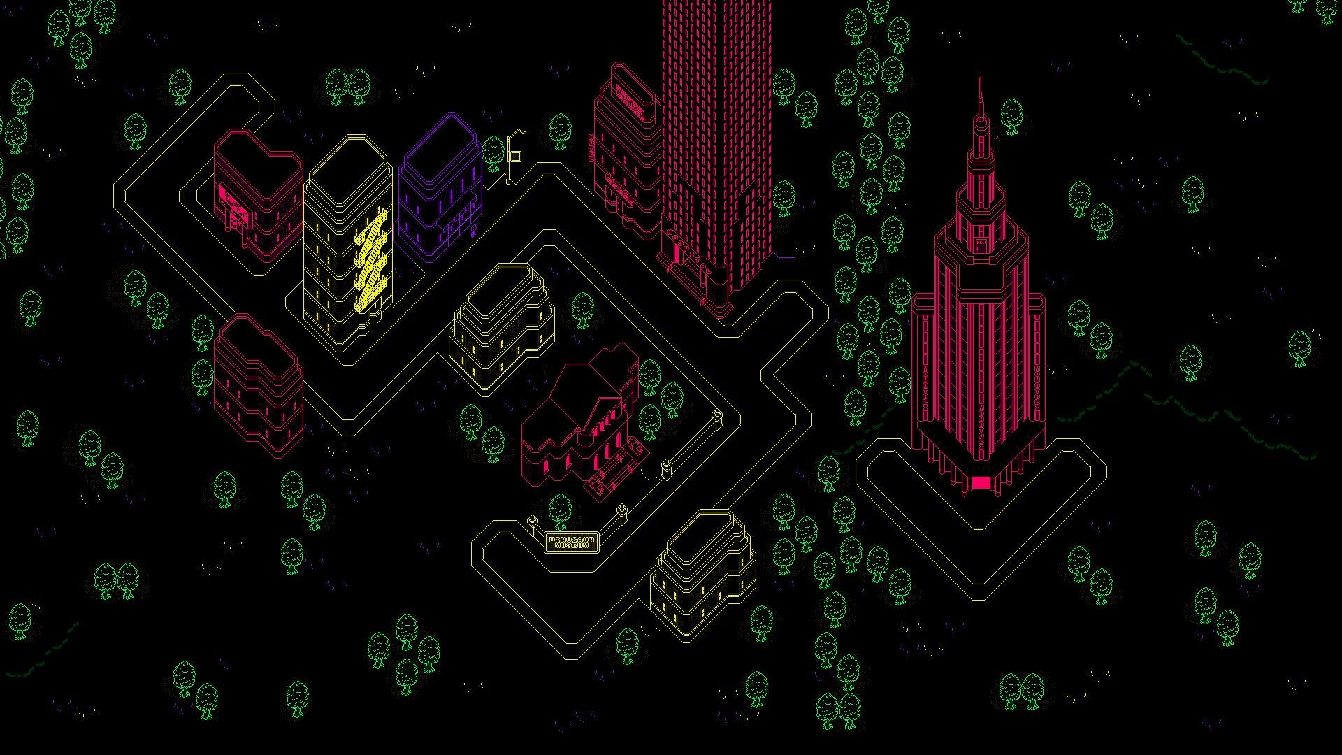 I made a 1920x1080 version of Moonside earthbound 1920x1080
