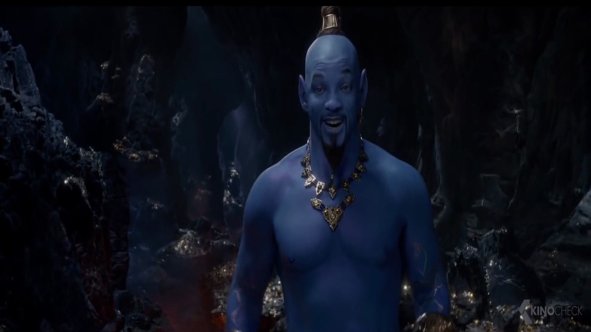 Will Smith as Genie in 2019 Film Aladdin HD Wallpapers 1920x1080