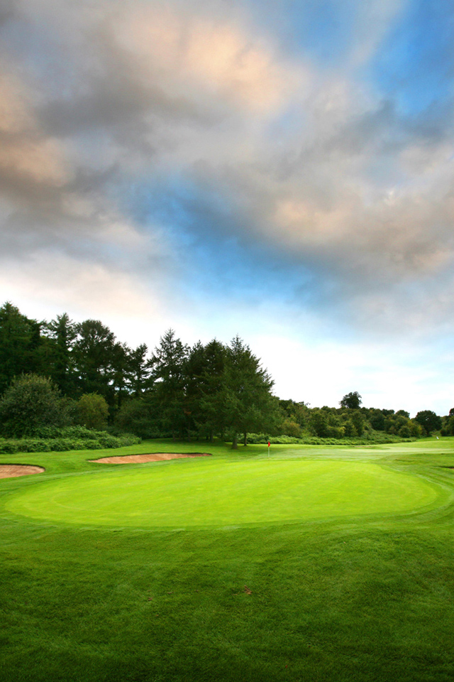 Golf Course wallpaper iPhone Wallpapers 640x960