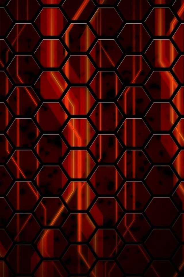 red galaxy wallpaper iphone abstract black and red cubes wallpapers 640x960