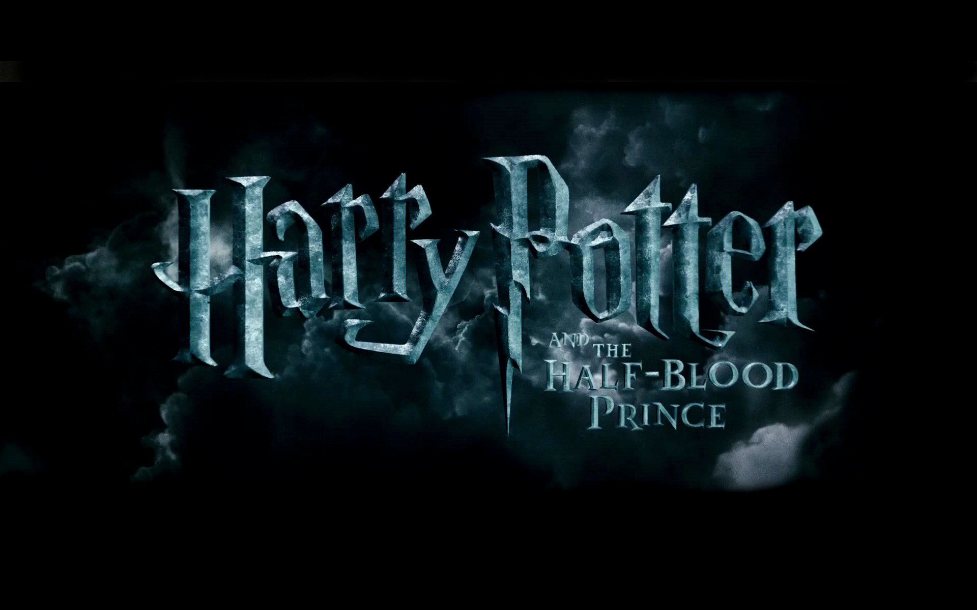 Cool Logo of Harry Potter and the Half Blood Prince Wallpapers   HD 1920x1200