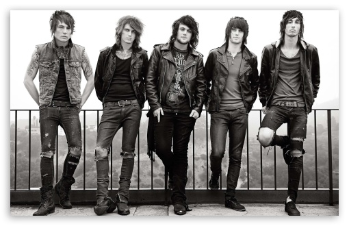 Asking Alexandria HD wallpaper for Standard 43 54 Fullscreen UXGA 510x330