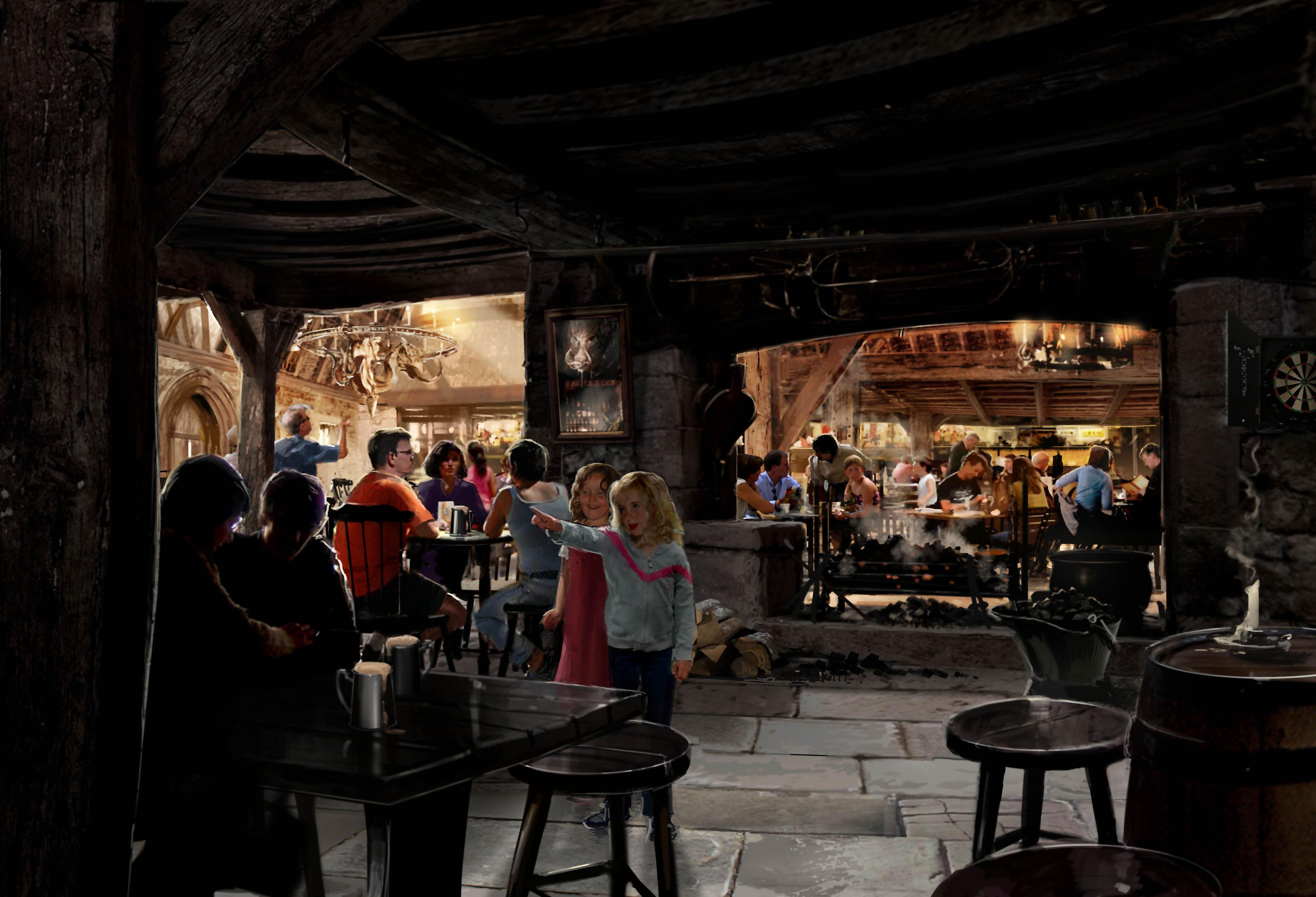 Hogs Head Pub Interior wallpaper   Click picture for high 3600x2455