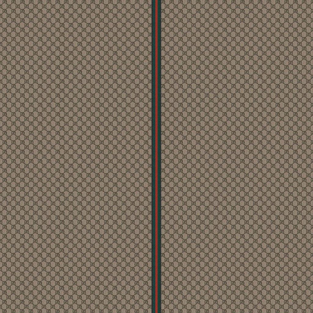 Gucci Pattern Fabric Beige Brown Wallpaper 1024x1024 1024x1024