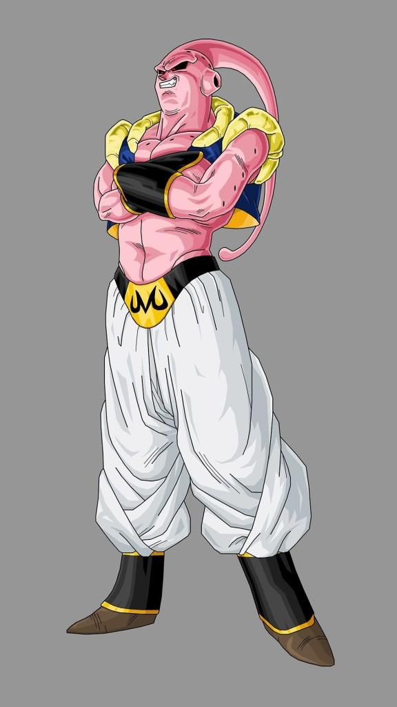Dragon ball z iphone wallpaper 1080x1920 majin buu 576x1024