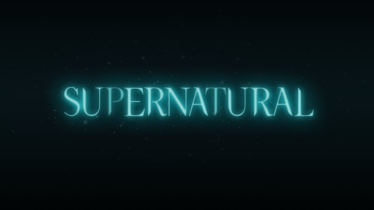 Supernatural Logo Series 2 Season 1 Glow by brandonarboleda on 1191x670