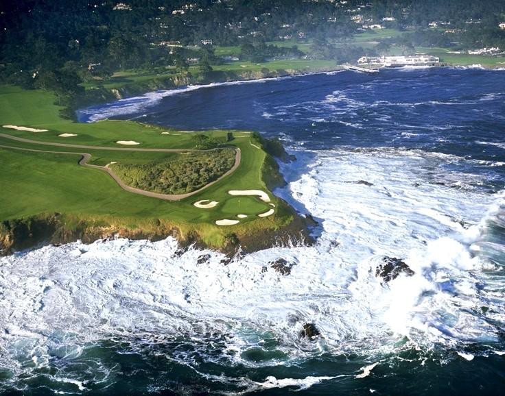 Pebble Beach Golf Wallpaper HD 736x578