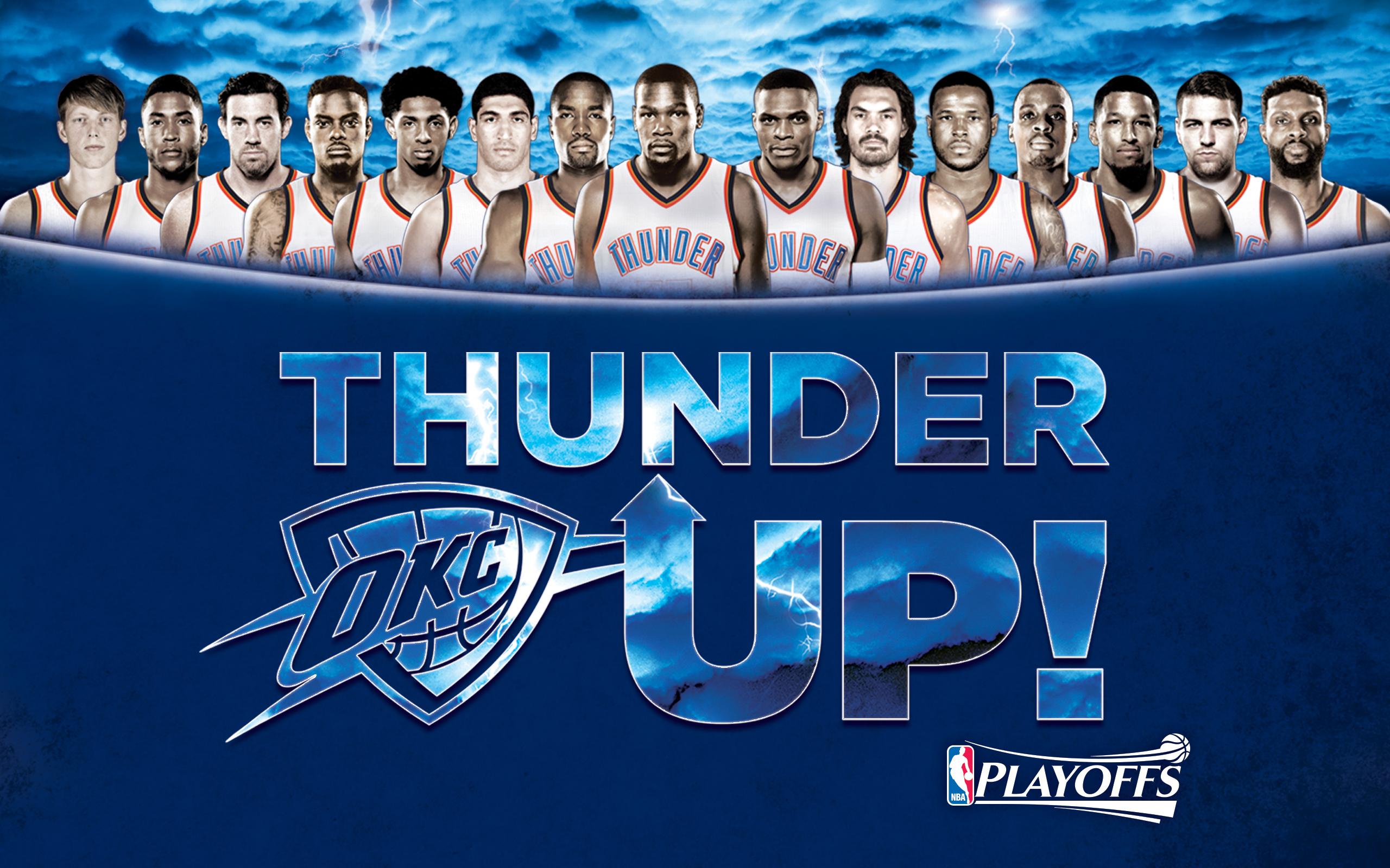 Thunder Playoffs Wallpapers Oklahoma City Thunder 2560x1600
