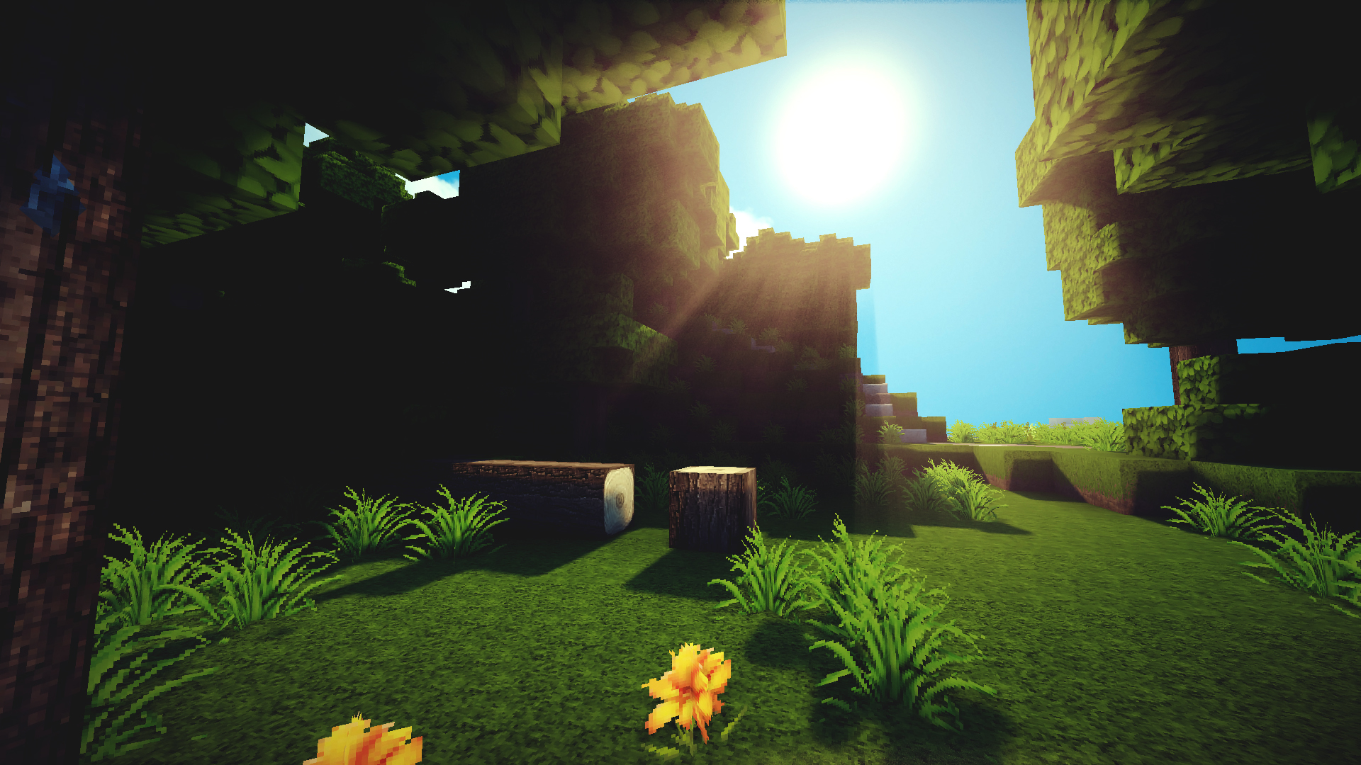 Awesome minecraft Background Widescreen Background 1920x1080