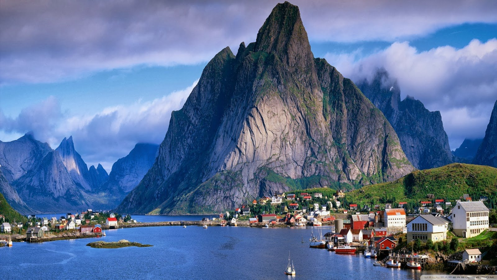 Wallpapers World Norway Scenery 2560 x 1440 HD Wallpaper 1600x900