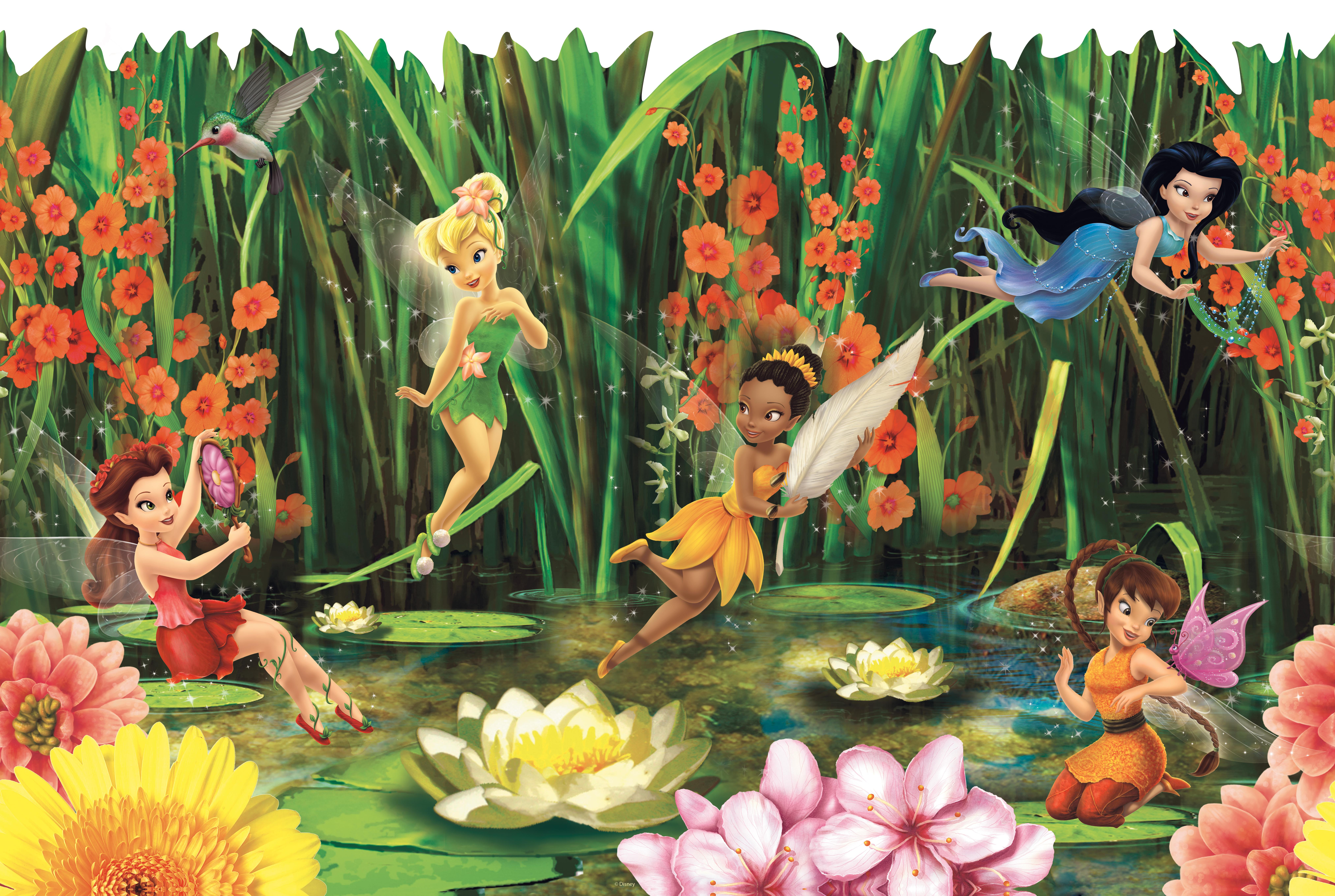 . Free download York Wallcovering Disney Fairies Fairies and Lilly
