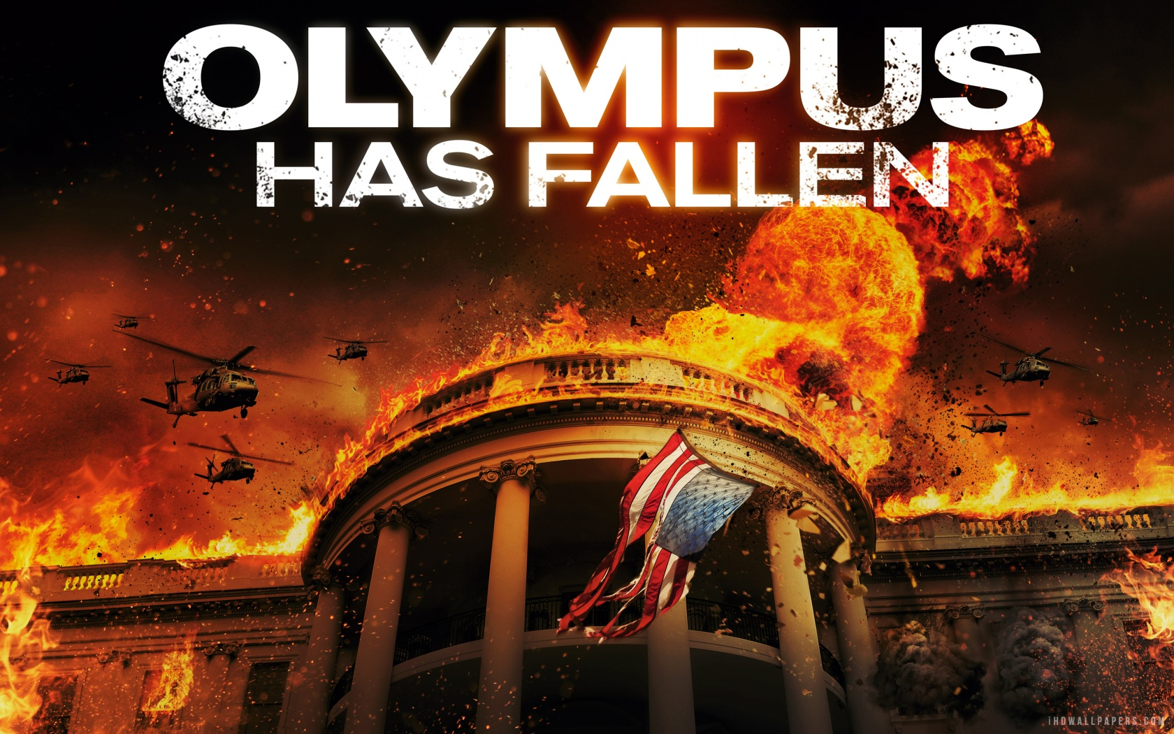 Olympus Has Fallen Wallpaper 1680x1050