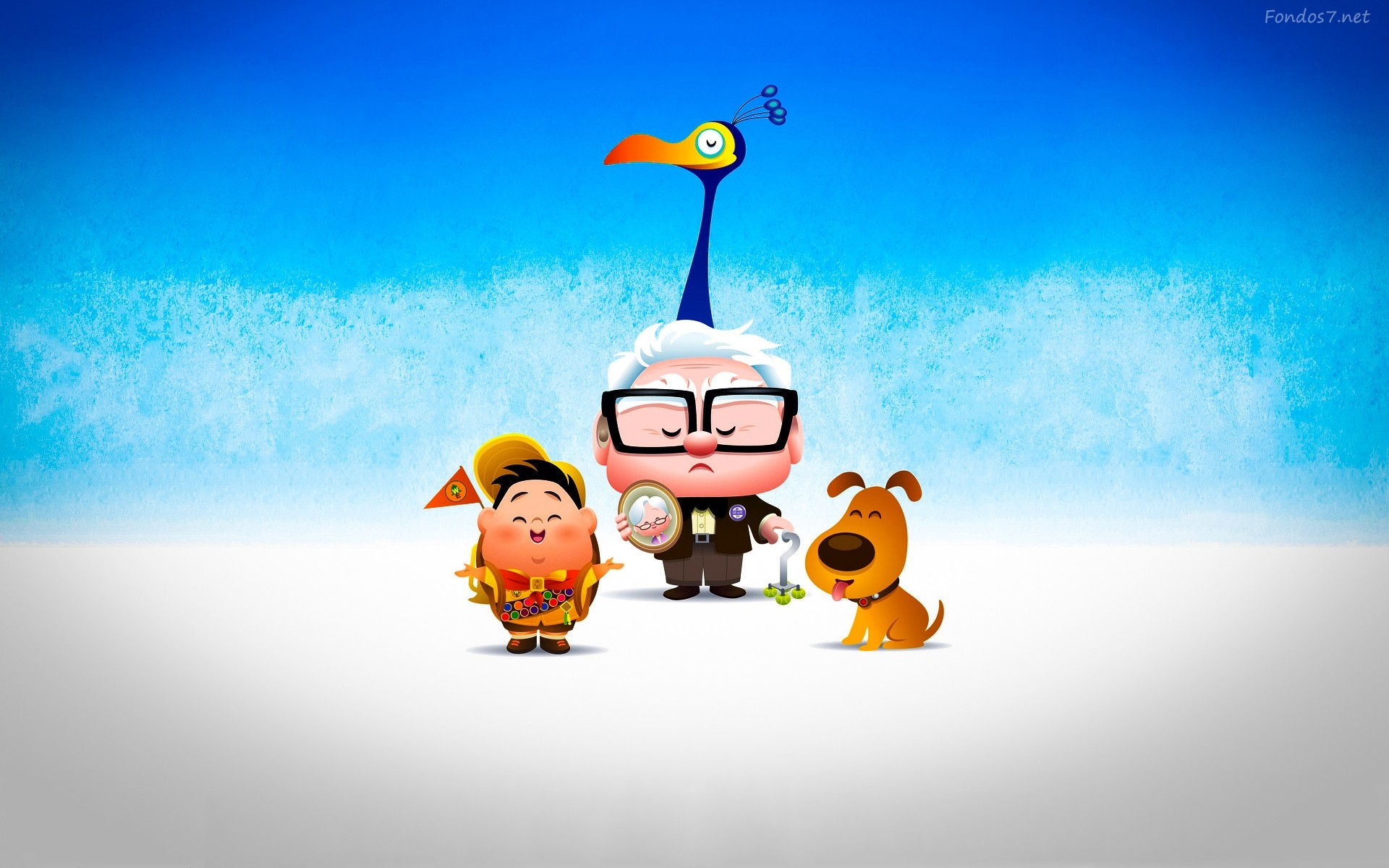 Up wallpapers wallpapersafari - Fotos pelicula up ...