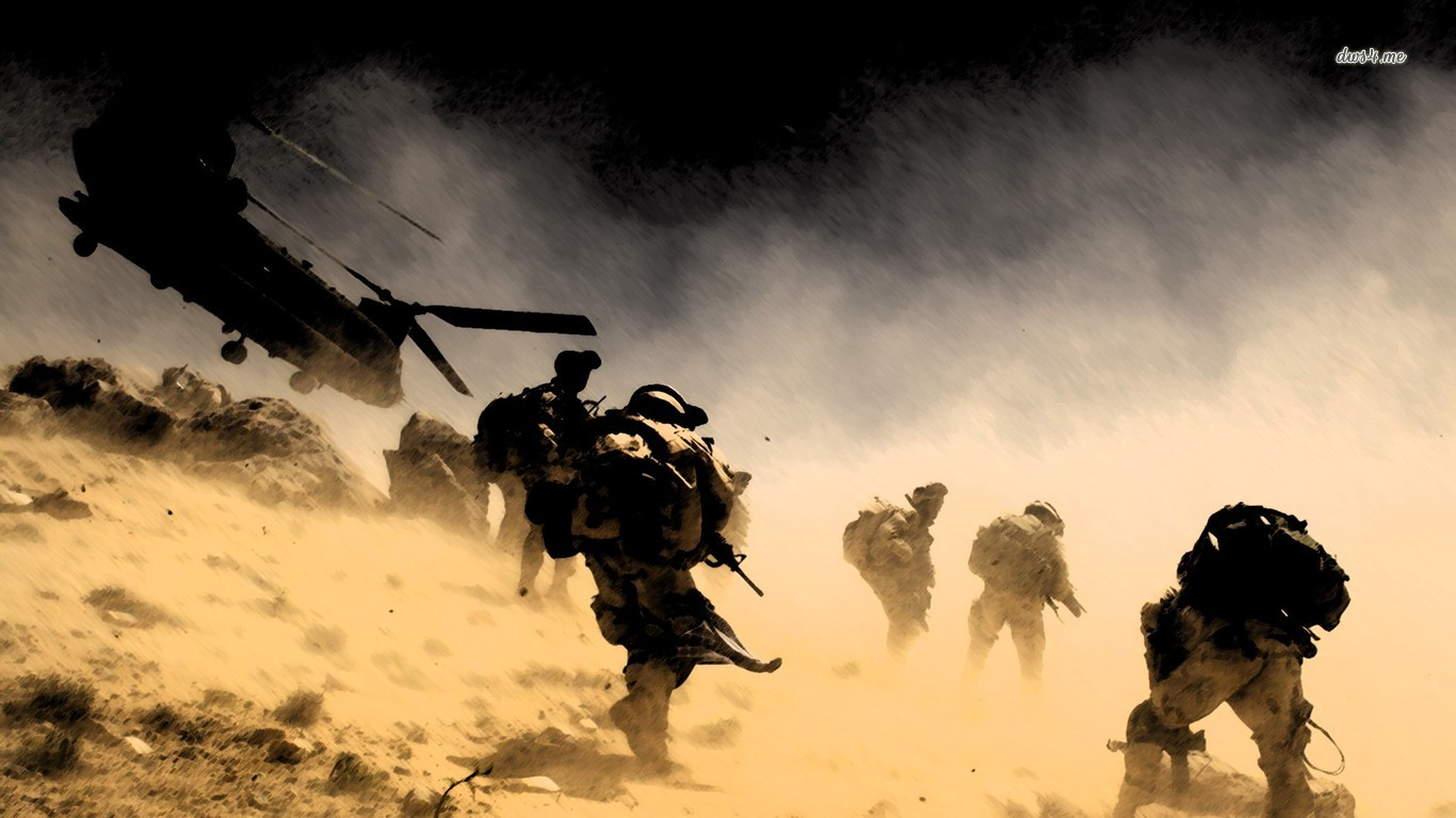 Military   Soldier Army Wallpaper 1366x768