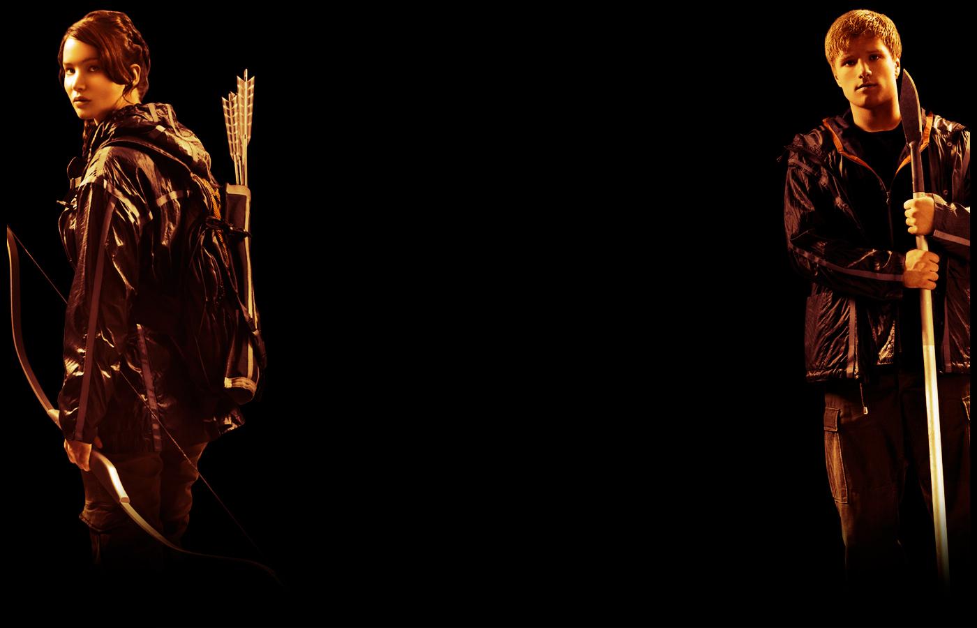 Katniss and Peeta Wallpaper   Peeta Mellark and Katniss Everdeen 1400x900