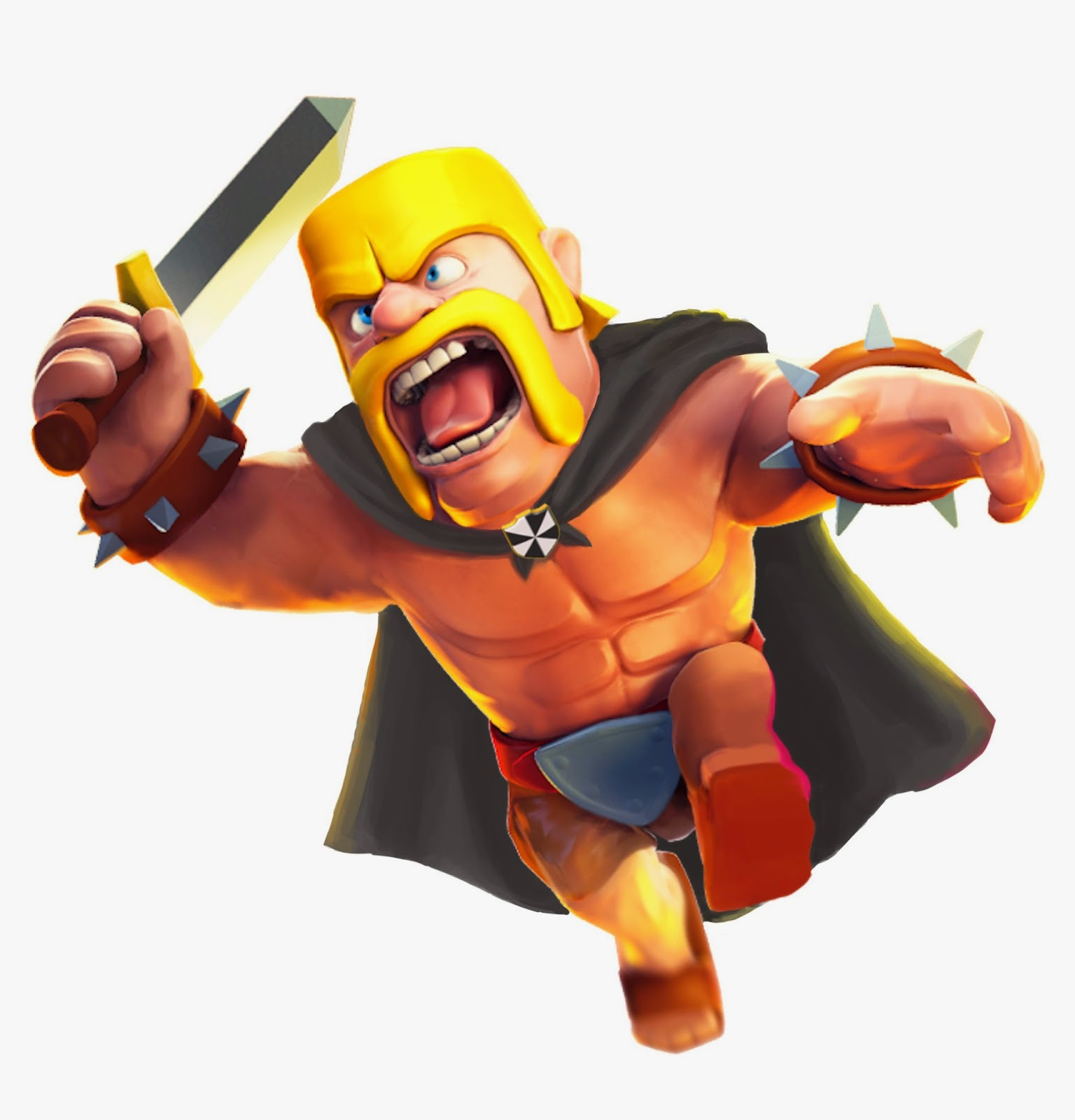 Wallpaper Barbarian Clash of Clan Clash of Clans Barbarian 1536x1600