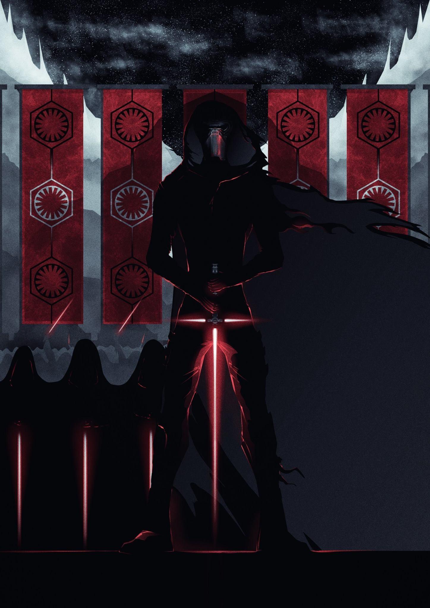 Knights of Ren poster by Lazare Gvimradze iimgurcom 1447x2048