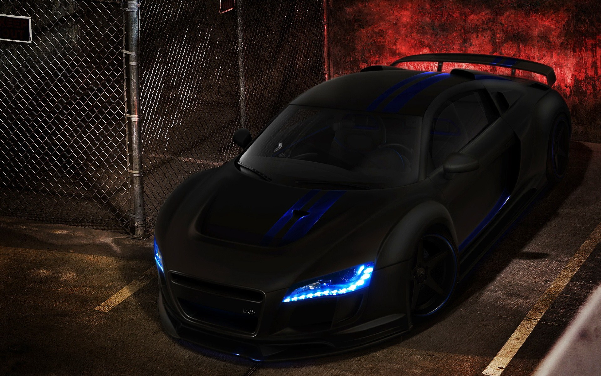 Matte Black Audi R8 Wallpaper Wallpapersafari