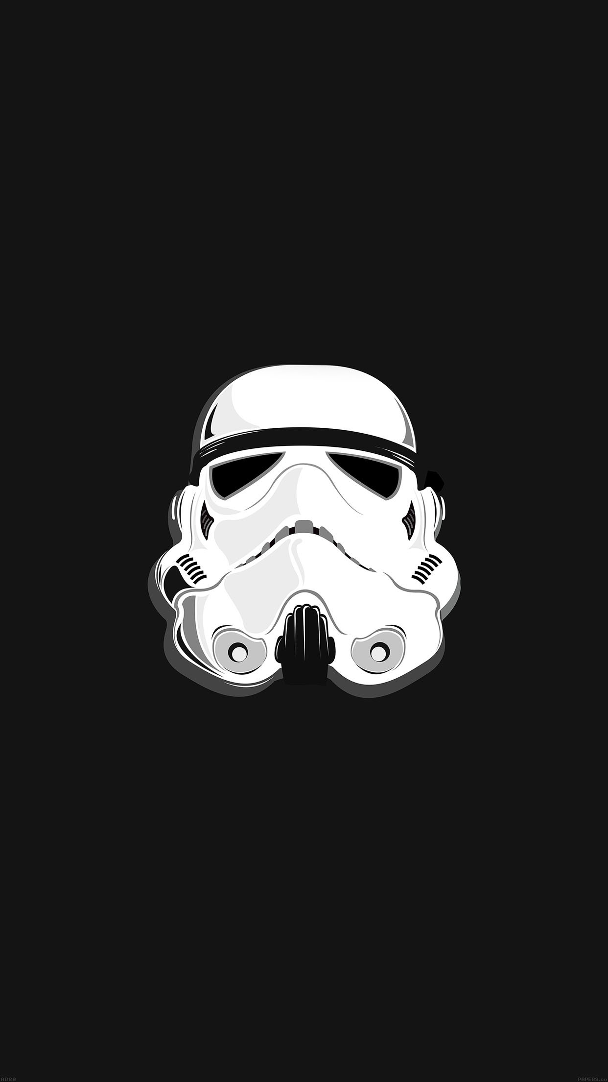 storm trooper starwars illust 34 iphone6 plus wallpaperjpg 1242x2208