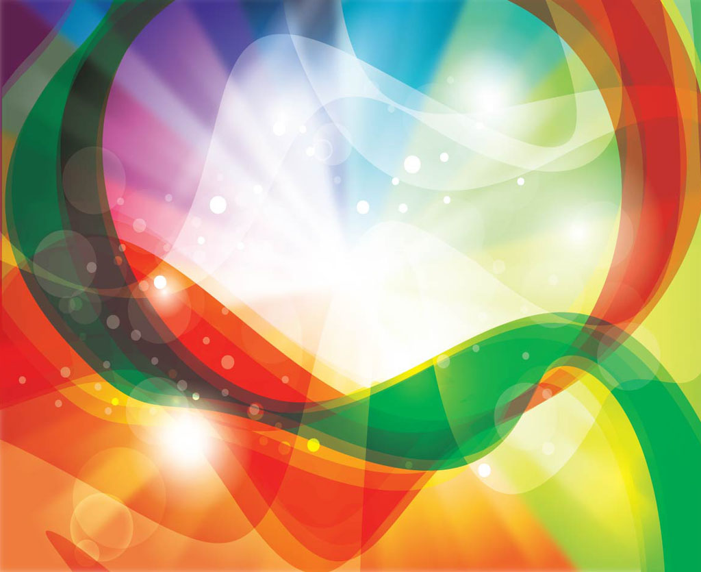 Colorful new abstract rainbow Vector background HD Wallpaper 1024x835
