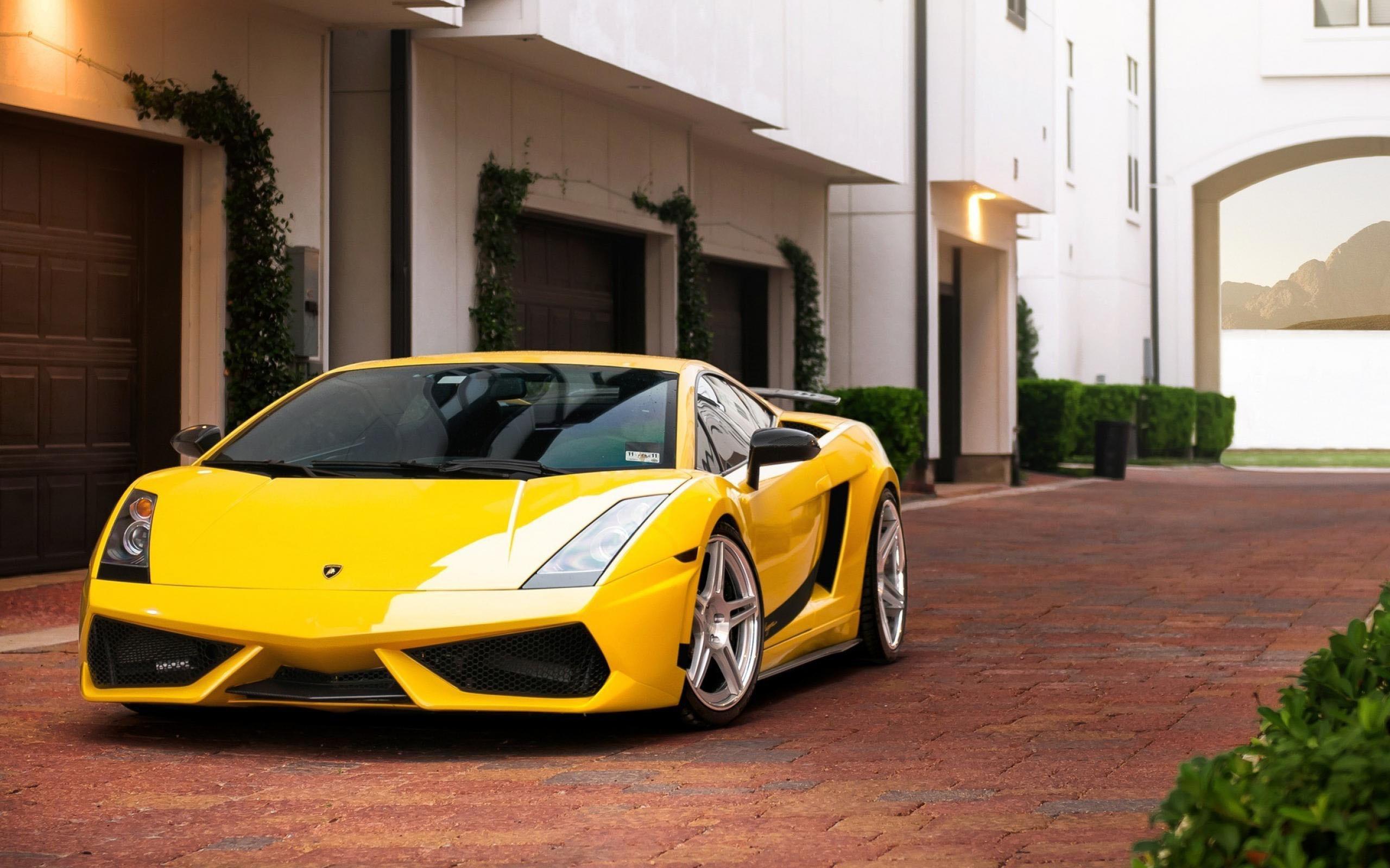 Yellow Lamborghini Wallpaper 6890253 2560x1600
