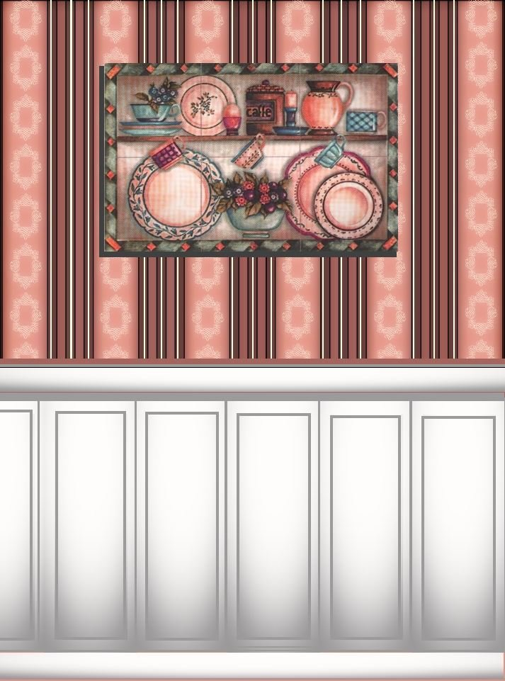 Make it with Paper Printable Dollhouse Wallpaper 713x961
