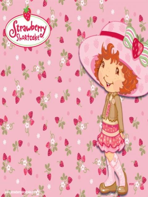 strawberry shortcake wallpaper Strawberry Shortcake 480x640