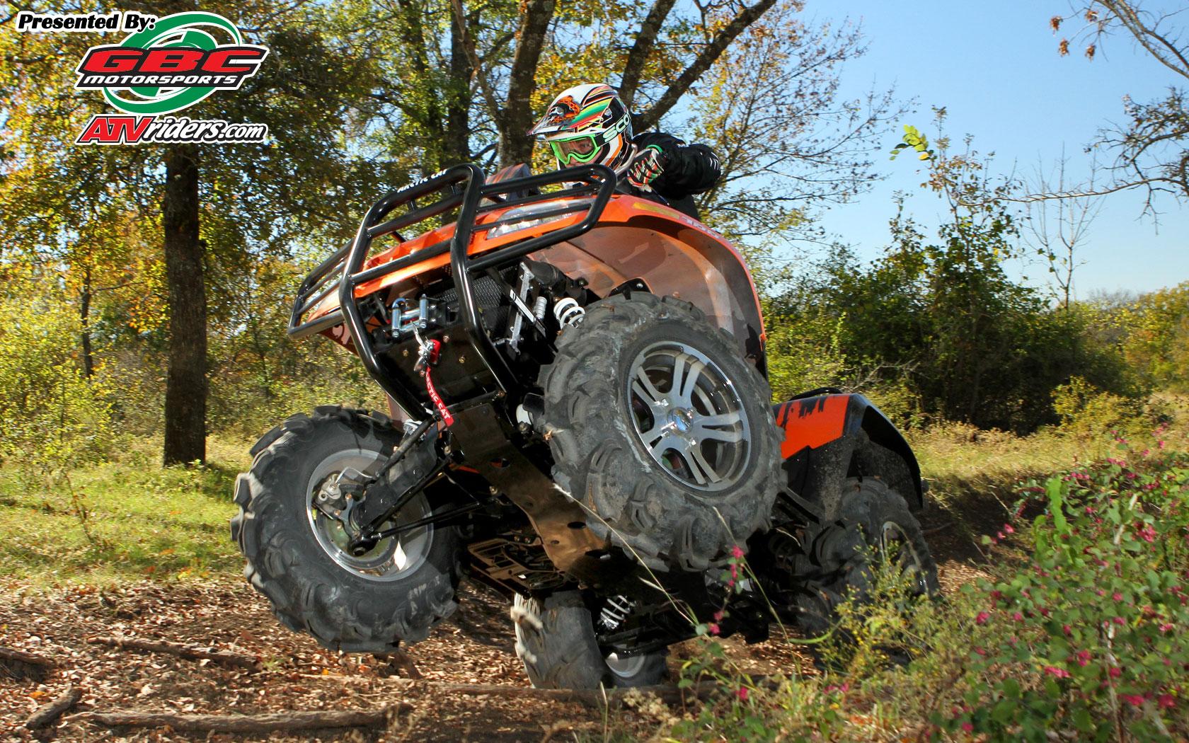 2011 Arctic Cat Mud Pro 700 4x4 Utility ATV Wheelie   Wednesday 1680x1050