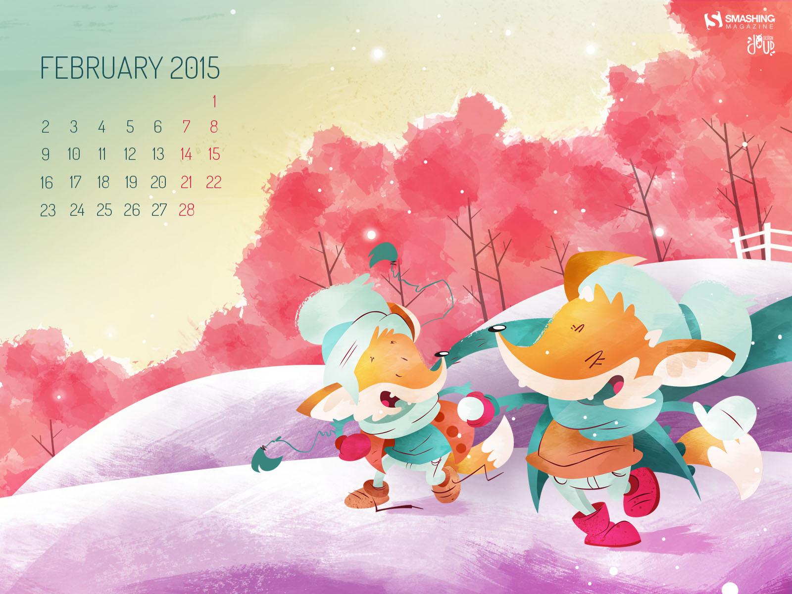Desktop Wallpaper Calendars February 2015 Smashing Magazine 1600x1200