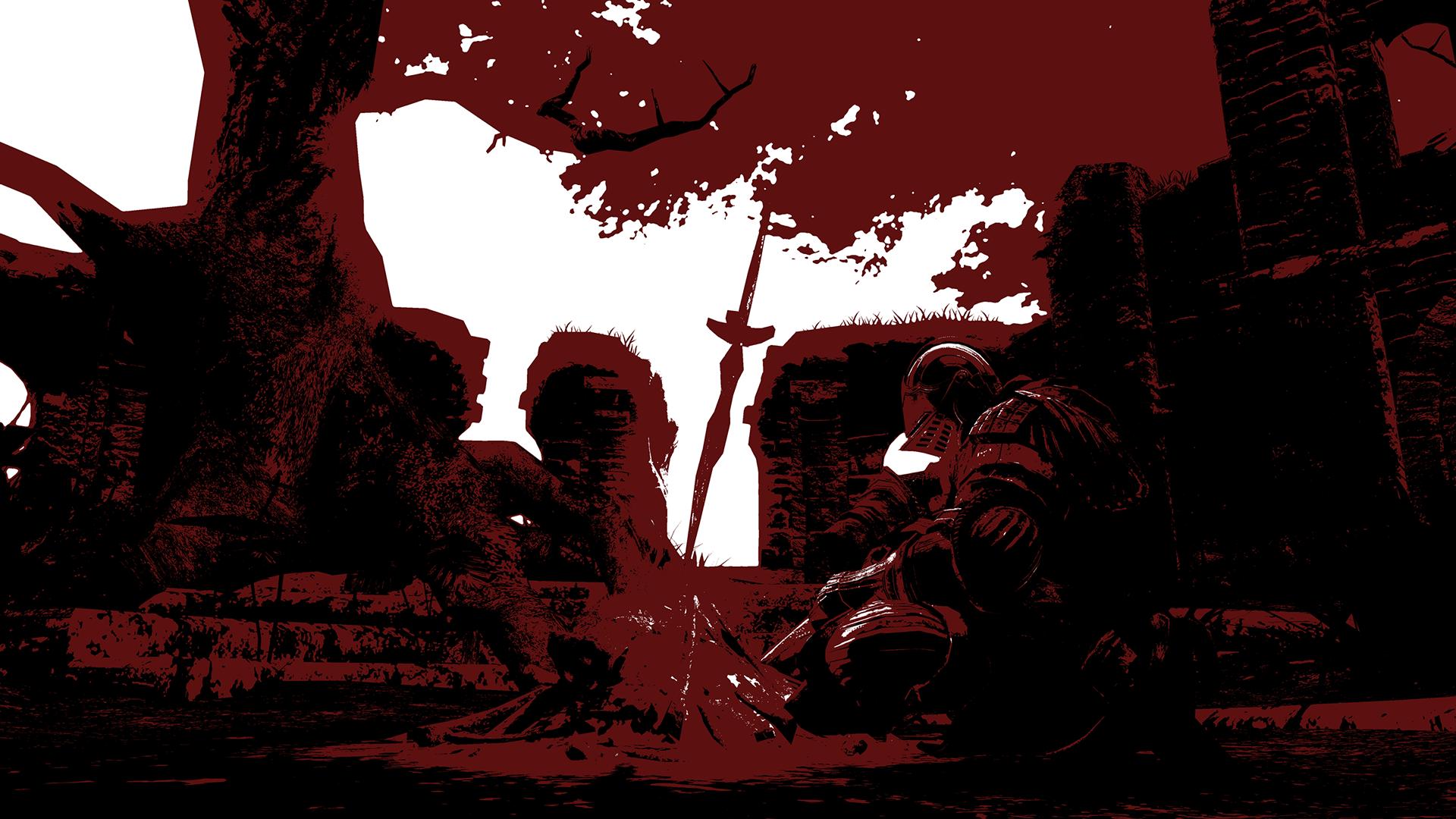 Dark Souls 2 Wallpaper 1080p I converted one of my dark 1920x1080