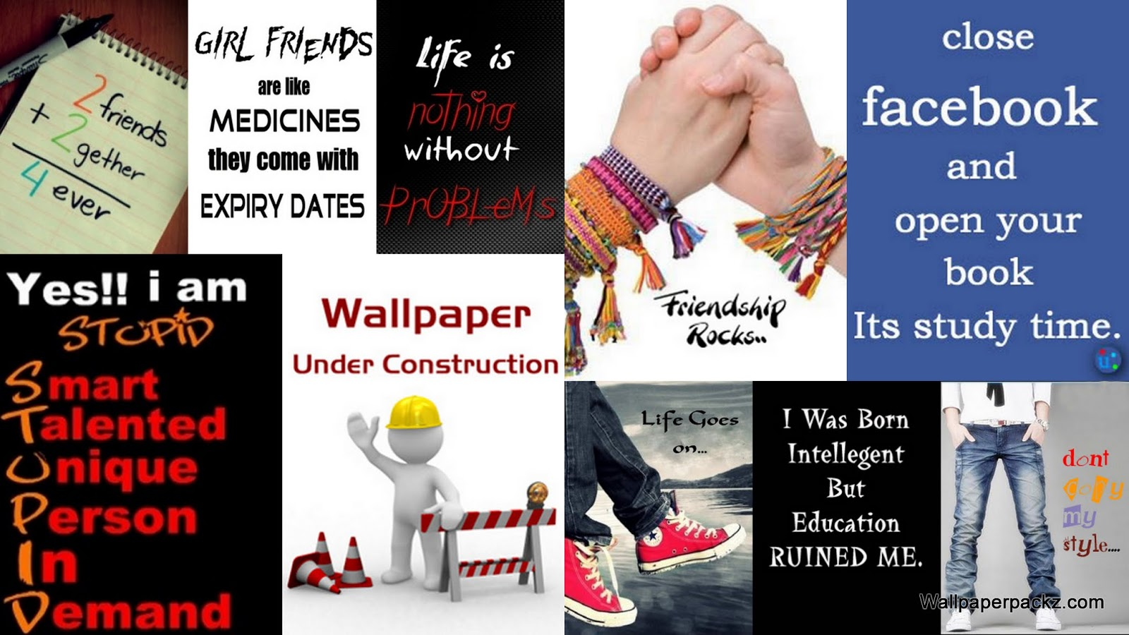 Download 240x320 Signs Sayings Wallpapers Pack 2 1600x900