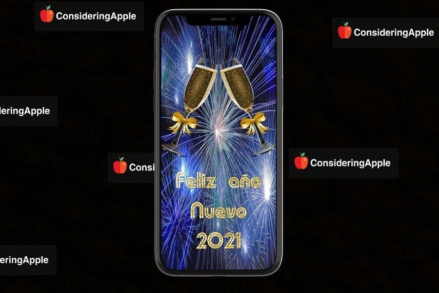 Best New Year 2021 Wallpapers for iPhone on iOS 14 900x600
