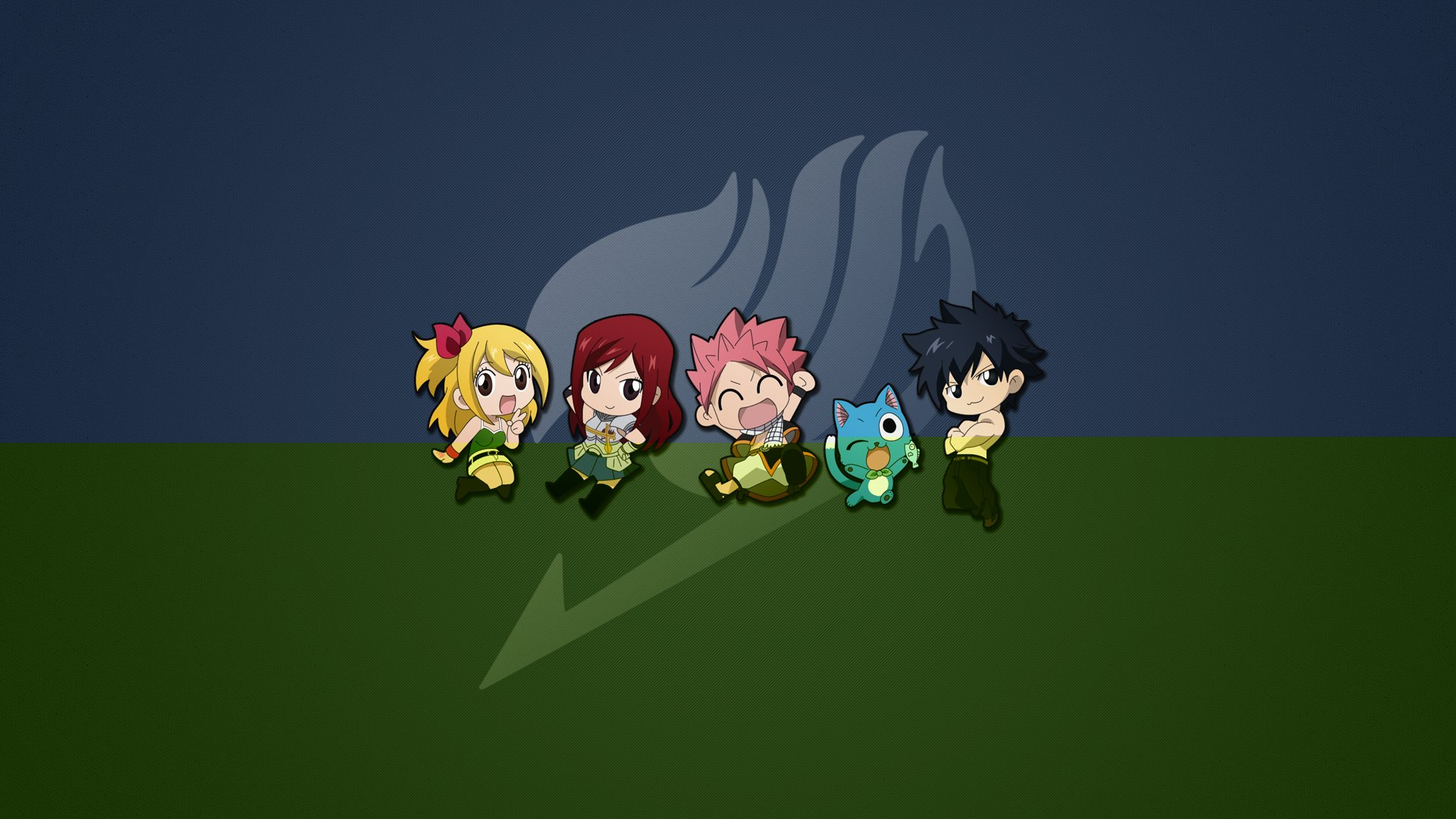Fairy Tail Characters Wallpaper 1920x1080