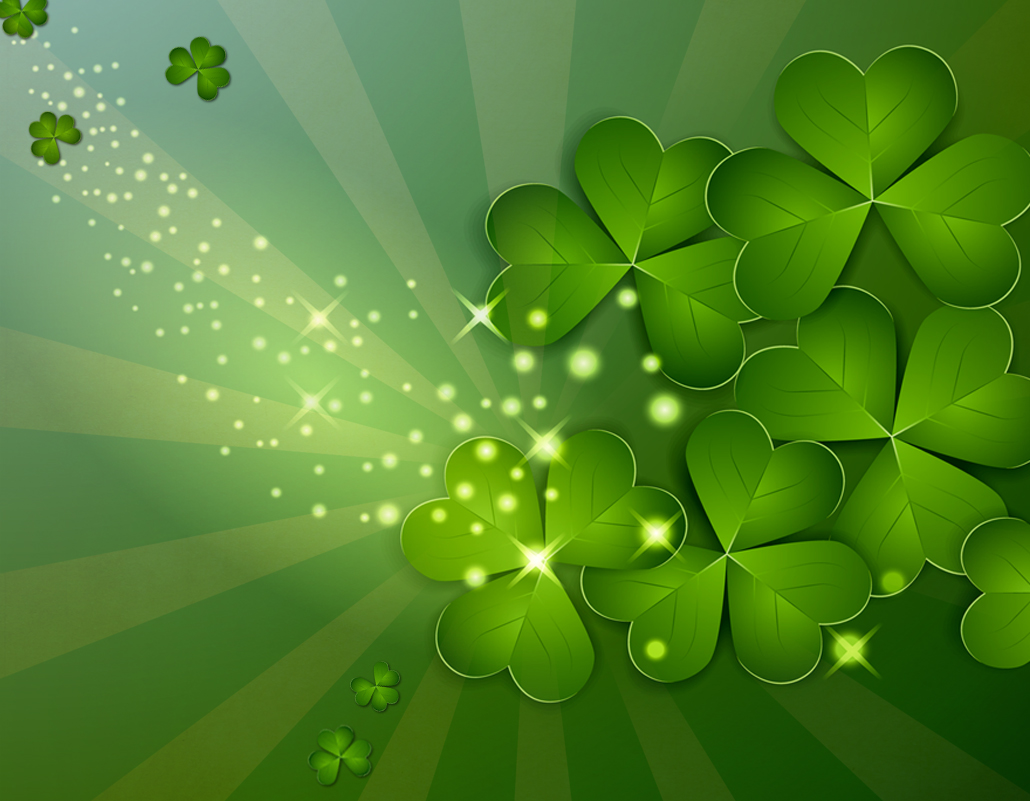 shamrock background 1030x801