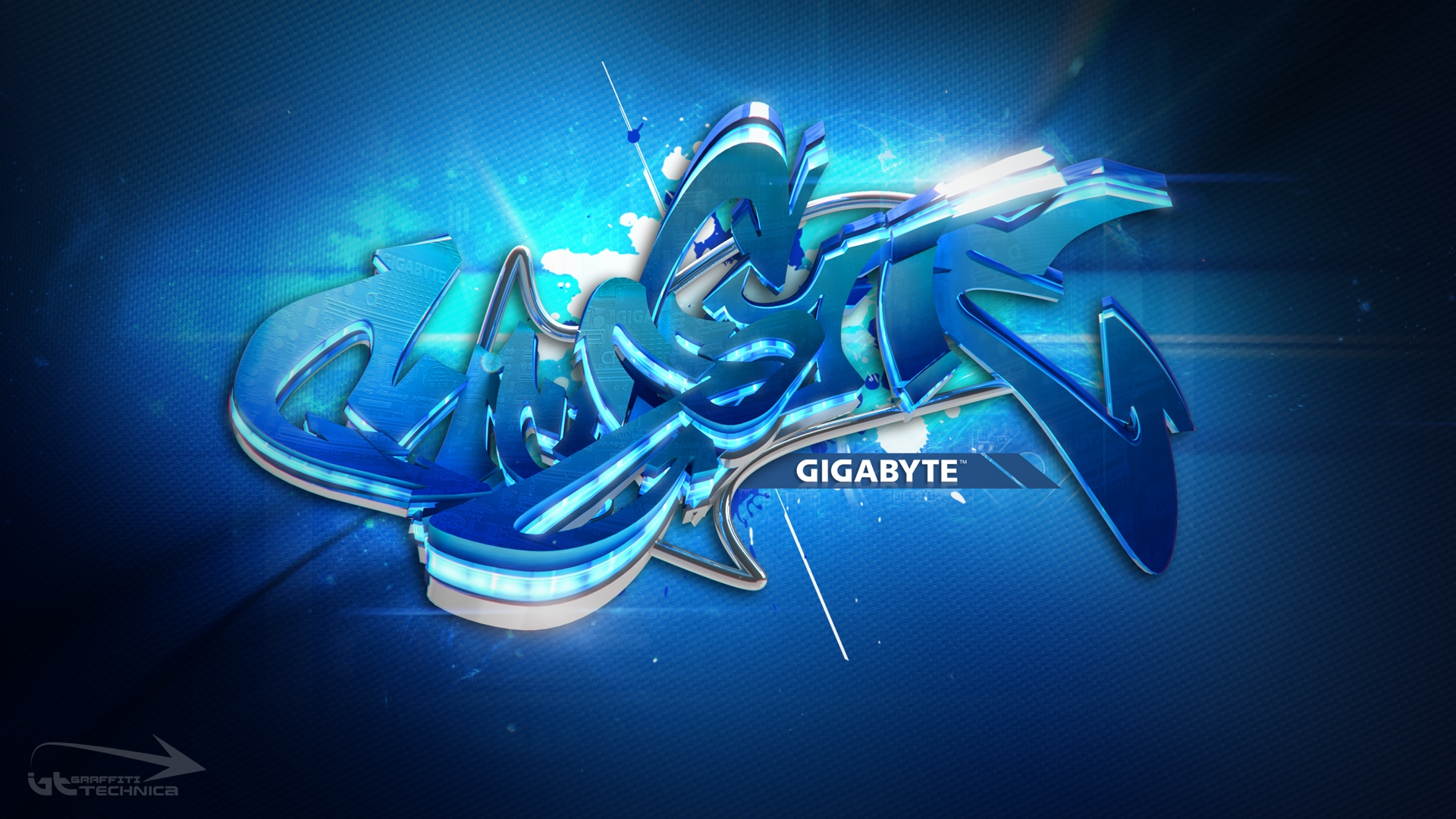 Group Of 3d Graffiti Backgrounds Pc
