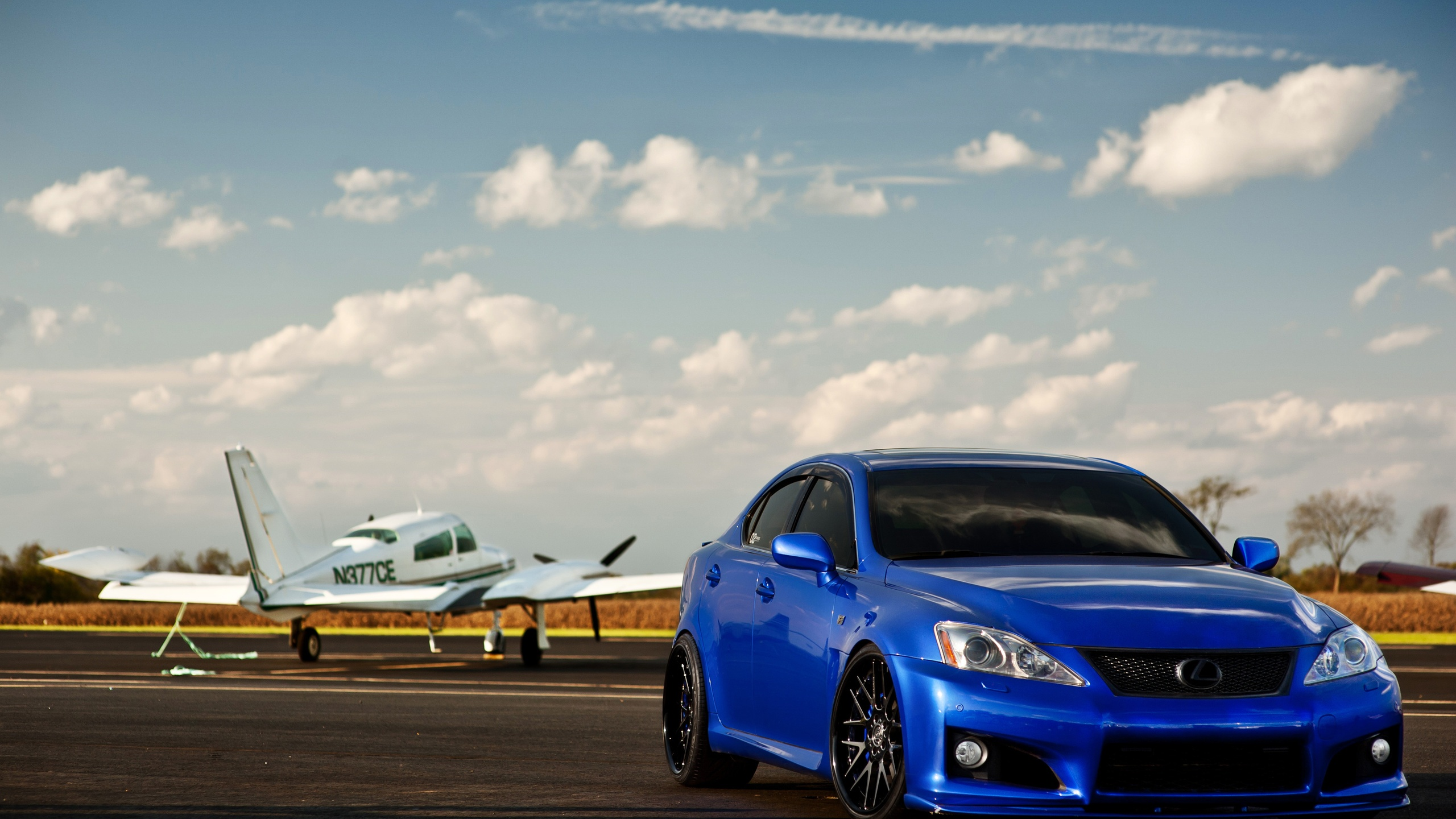 Blue Lexus IS F 2560 x 1440 Download Close 2560x1440