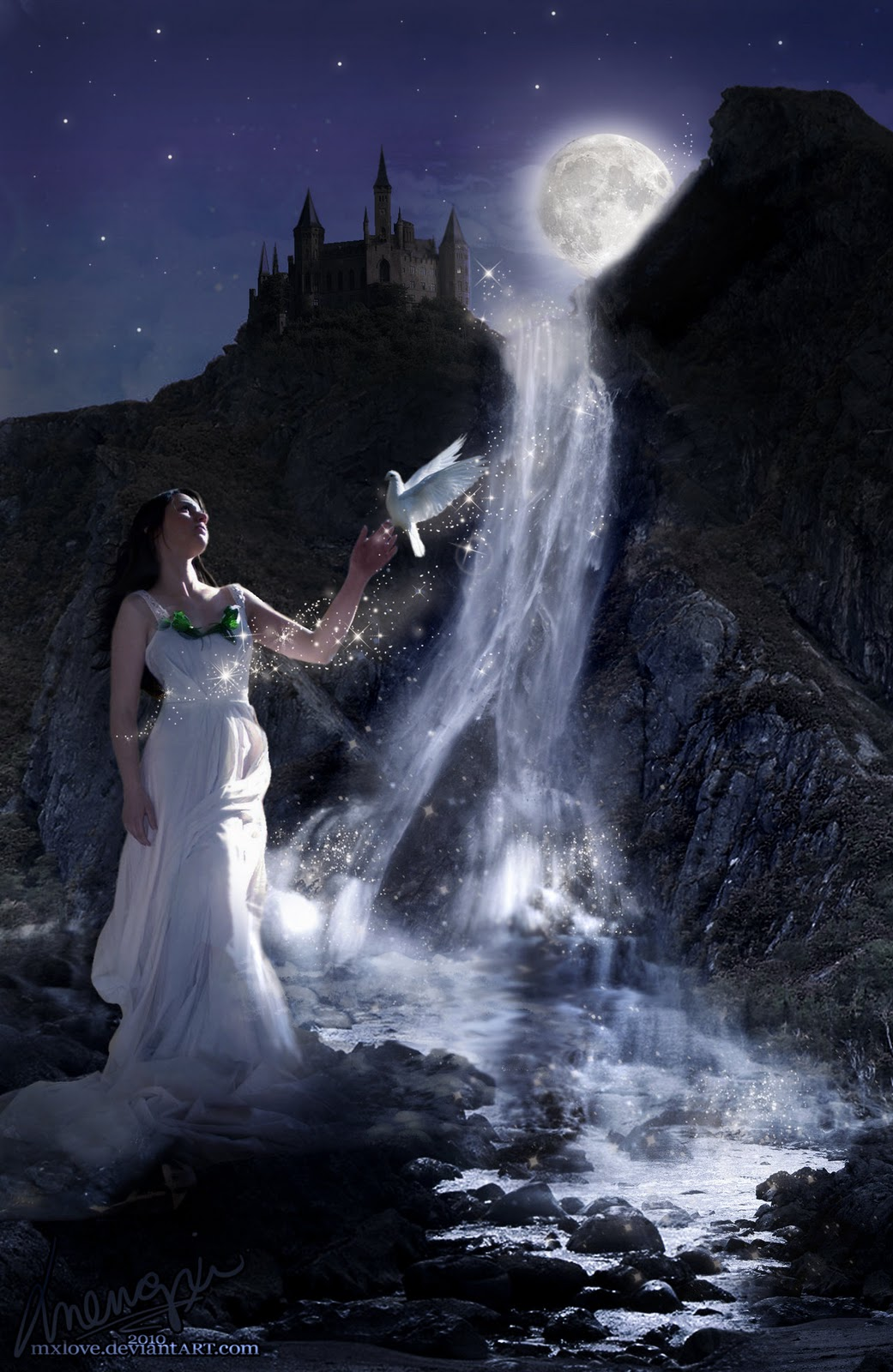 Moon Goddess Wallpaper - WallpaperSafari