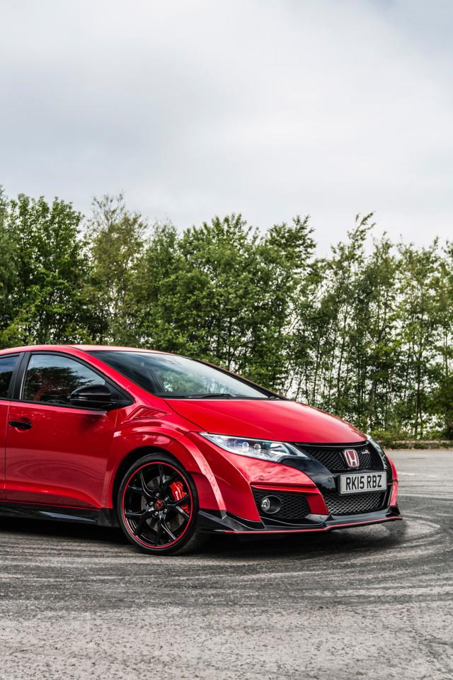 Civic Type R Red RHD HD Wallpaper 6249 640x960